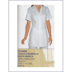 21376 IS - Casacca Marbella satin mezza manica