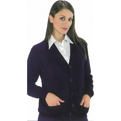 22745 IS - Cardigan unisex in misto lana