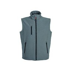 27338 JR - Gilet in soft shell impermeabile e traspirante 320gr