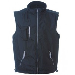 0395 JR - Gilet in polyester pongee