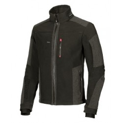 28441 UP- giacca in softshell  con tasca portacellulare 320gr