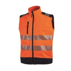 28468 UP- gilet in tessuto softshell  320gr