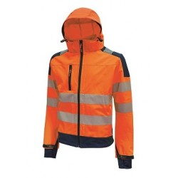 28469 UP- giacca in tessuto softshell  320gr