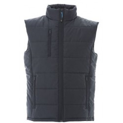 17663 JR - 4XL NAVY Gilet in nylon lucido impermeabile 180gr