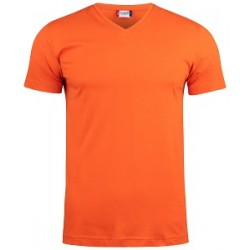 17956 CL - Basic-T V neck T-shirt scollo a V in cotone pettinato 145 gr/m2