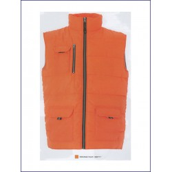 1489 JR - Gilet in nylon lucido impermeabile