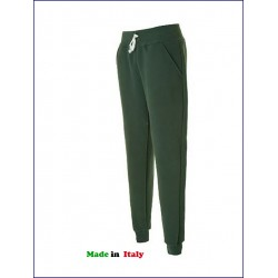 20302 JR - Pantalone vintage in felpa made in italy 320 gr