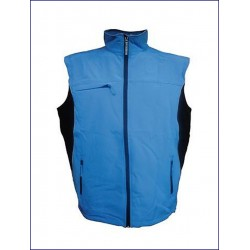 20321 JR - Gilet in soft shell impermeabile e traspirante