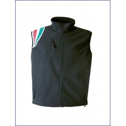 20328 JR - Gilet in soft shell impermeabile e traspirante