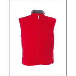 20371 JR - Gilet in pile antipilling zip lunga 280 gr
