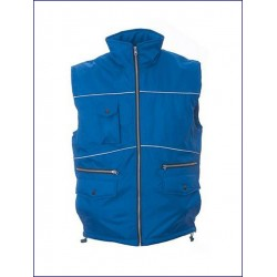 20388 JR - Gilet in polyester pongee impermeabilizzato
