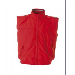 20412 JR - Gilet in 100% polyamide/nylon taslon